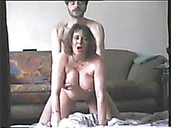 Blondes eating cum